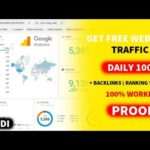 Get Free Traffic For Your Website And High Quality Backlinks In Hindi