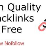 High Quality Backlinks Free | High Quality Backlinks Kaise Banaye