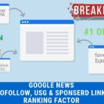 How Google's Nofollow, Sponsored, & UGC Links Impact SEO - Sponsored UGC Backlinks Hindi Video