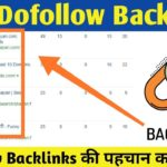 How To Find Dofollow Backlinks on High DA PA sites