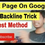How To Index Backlinks On Google Fast My Best Method