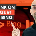 How to Rank on Page 1 of Bing   Bing SEO