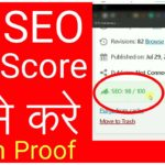 How to improve SEO score and readability for wordpress website by rankmath