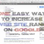 One Easy Way to Improve Your Site Rank on Google (Meta Description Tag)