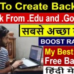 SEO - Part 53 | How to create High Pr Quality BackLinks From .edu and .Gov Website (Hindi)