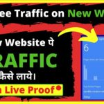 Tested & Proven Way To Get Traffic to Your New Blog With Live Proof In Hindi | Boost Website Traffic