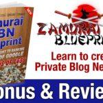 Zamurai Private Blog Network Bonus & Review - Bonus for Zamurai PBN