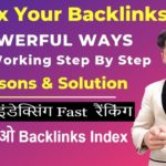 index Backlinks Fast in Google | Index Backlinks Faster For Rank Fast in Google