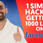 1 Simple Hack to Getting 1000 Likes on Facebook
