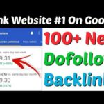 100+ High Quality Dofollow Backlinks 2020  | Make Dofollow Backlinks | Create Dofollow Backlinks |
