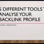 5 different SEO tools to analyse your backlink profile