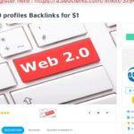 800 Web 2 0 profiles Backlinks for $1 on SEOClerks
