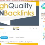 Build 10 High PA DA TF CF HomePage PBN Backlinks Dofollow Quality Links On SEOCl