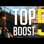 CSGO : TOP 5 BOOST on overpass (CT Side)