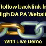 Create Do Follow Backlink From High DA60 Forum in Hindi