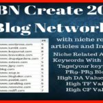 Destroy Google Search Engine With 20+ Public Blog Network Backlinks Service 2018