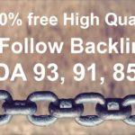 Do Follow BackLinks Kaise Banaye | DA 93 PA 88 | High Quality Backlinks