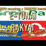 E-tunai Rakyat 15/1/2020 Touchn GO Ewallet, Boost Ewallet, Grabpay 各别送更多的钱 More money from them?