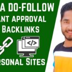 Free Dofollow Backlinks From .Edu Website instant Approval High DA & PA | Off Page SEO