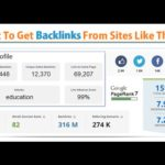 Get High Authority Backlinks | EDU Link Tool Review