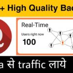 Get High Quality Backlinks And Traffic From Quora On New Blog Website | Blogging Guide By Niraj