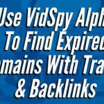 Get High Quality Backlinks With VidSpy Alpha Broken Link Finder