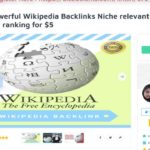 Get Most Powerful Wikipedia Backlinks Niche relevant for improve SEO ranking On SEOclerks