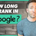 How Long to Rank in Google?