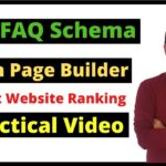 How To Add FAQ Schema In Page Builder To Boost Your Website Ranking 🔥 In Hindi | BloggingQnA