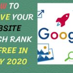 How To Improve Your Website Search Rank for Free in EARLY 2020 | Wordpress Authentic Seo Tips