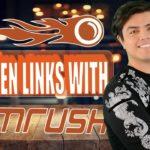 How to Find Broken Links with SEMRush - SEMRush Backlink Analysis Tool