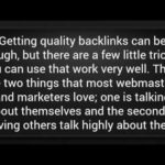 Importance of High Authority Backlinks