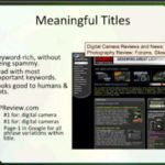 O'Reilly Webcasts: Getting Google to Love Your Website