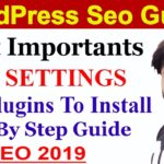 SEO - Part 88 | Most Important Essential SEO Settings for New WordPress Blogs