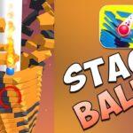 Stack Ball топ игра  Google Play демонстрация начало.