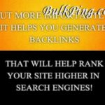 What is Social Bookmarking in Seo backlink finder for website on Bulkping Video