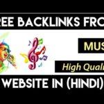 high quality backlinks from music || High Quality DA,PA & PR quality of backlinks 2019