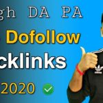 10+ Dofollow Backlinks Sites List With High DA PA For Your Blog | Blogging Guide By Niraj Yadav