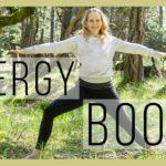 10 min Beginner Yoga for Energy Boost   30 Day Beginner Yoga Challenge   Day 27