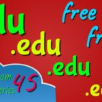 2 .edu backlinks DA 93 free: Ampleom.com backlink series 45