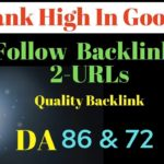 2 URLs: Create Do Follow Backlink with High Domain Authority in Hindi