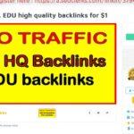 320 EDU high quality backlinks for $1 On SEOClerks