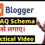 Add FAQ Schema In Blogger Website To Boost Your Website Ranking 🔥 In Hindi | BloggingQnA