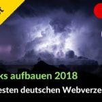 Backlinks aufbauen: Die 24 besten deutschen Webverzeichnisse