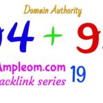 Build 2 high domain authority backlinks