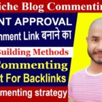 Create Backlinks - How To Find Blog Commenting Sites | My Best Methods [SEO Hindi]