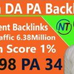 Create Do Follow High DA PA Backlinks Step By Step Just 5 Minutes