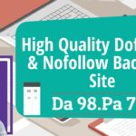 Create High Quality Dofollow & Nofollow BackLinks | High DA PA Sites high domain authority sites