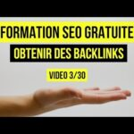 FORMATION SEO : Comment obtenir des backlinks 3/30 (Un backlink depuis google.com)