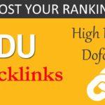 Free EDU backlinks: Get High DA PA Dofollow .EDU Backlinks for your website (instant approval)